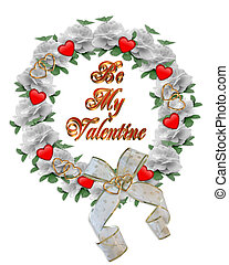 Valentine Wreath design