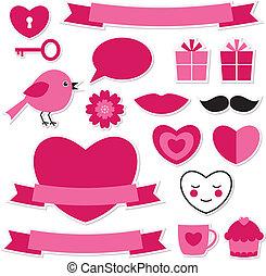 valentine, zaprojektujcie elementy