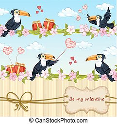 valentines天, 卡片