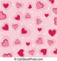 valentines, день, карта