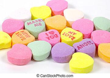 valentines, день, конфеты