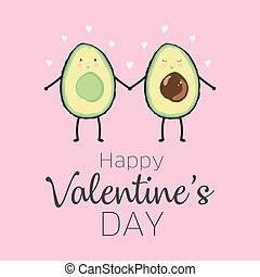 valentines, abacate