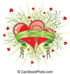 valentine\'s, abstratos