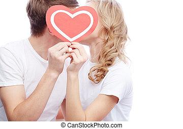 valentine's, amantes