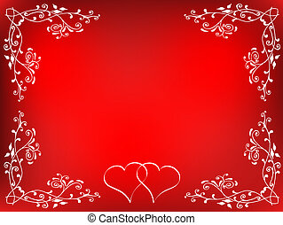 Valentines themed background
