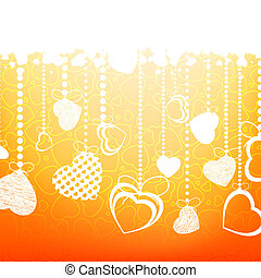 Valentine's background. EPS 8