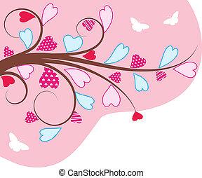 Valentine's background .