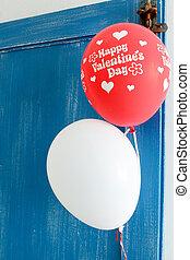 valentines, balões