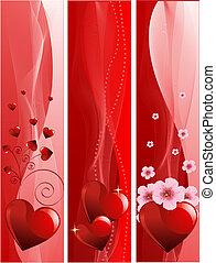 valentine\'s, baner, dag