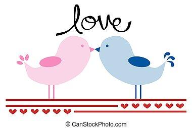 Valentines Birds