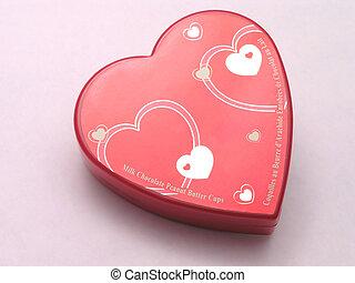 valentines, caja del caramelo, -, corazones, 1