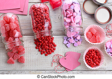 Valentines Candy Still Life