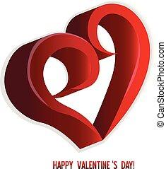 valentines, coração, amor, saudações, cartão