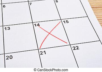 valentines, crucifixos, agenda, dia