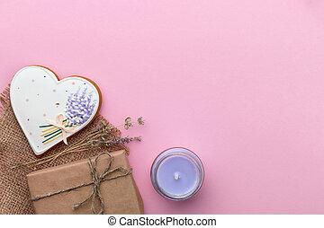 valentines dag, achtergrond, begroetenen