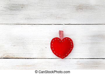 valentines dag, achtergrond, met, hearts.