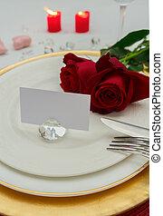 valentines dag, diner