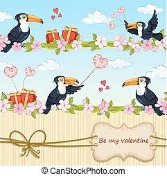 valentines dag, kaart