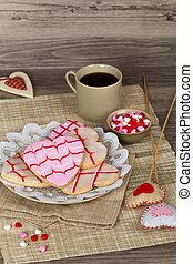 valentines dag, koekjes