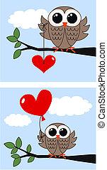 valentines dag, of, jarig
