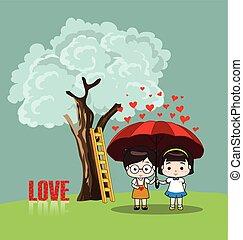 valentines dag, vrolijke