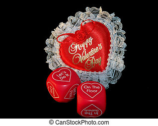 Valentines Day 5 - Valentines Day Series - Roll the dice to...