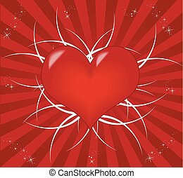 Valentine's Day, abstract background