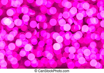 Valentine's day abstract background - out of focus light...