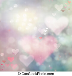 Valentines day abstract background