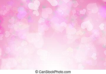 Valentine's day background - pink Valentine's day background