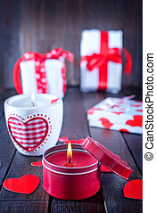 valentines day background - present for valentines day in ...