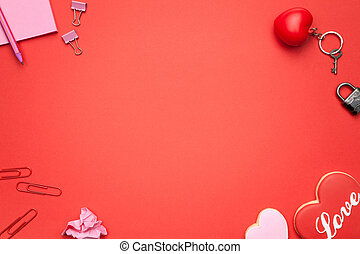 Valentines Day Background - Valentines day background. Copy...