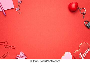 Valentines Day Background - Valentines day background. Copy...