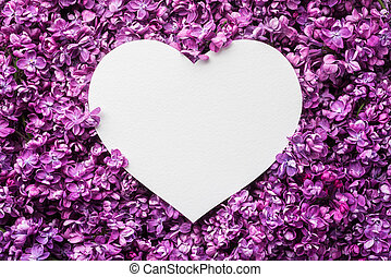 Valentine's day background with decorative heart