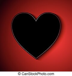 Valentine's Day background with heart design