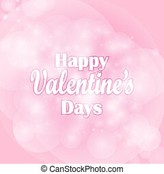 Valentines day background with hearts