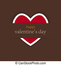 valentine's day background with place for your test. vector illustration. Best choice