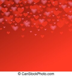 valentines day background with red heart for your holiday design