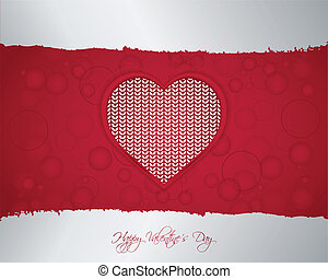 Valentine's day background with special design