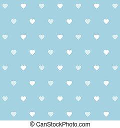 Valentines day blue background