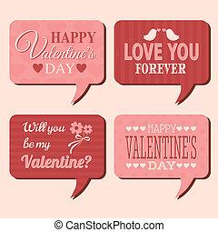 Valentine's Day Bubbles Set