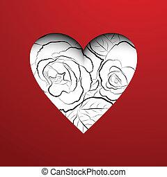 Valentine's day card.