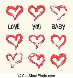 Valentines day card, wedding invitation, birthday card.