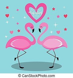valentines day card with cute flemish couple vector illustration design