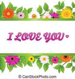 Valentines Day Card With Text, Valentines Day Greeting Card,...