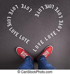 Valentine's day concept - Original Valentine's Day love ...