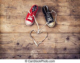 Valentine's day concept - Original Valentine's Day love...