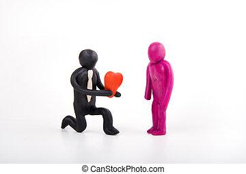 valentine`s day couple