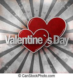 Valentine`s Day Creative Heart Design