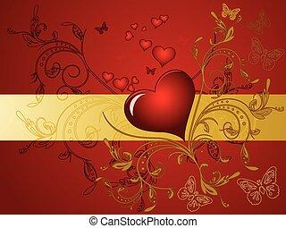 Valentines Day design. Vector